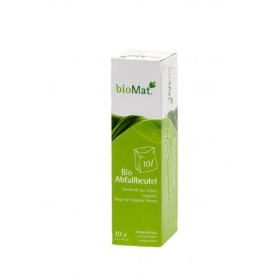 10 Liter BIOMAT® Bio-Müllbeutel auf der praktischen Abreiß-Rolle
