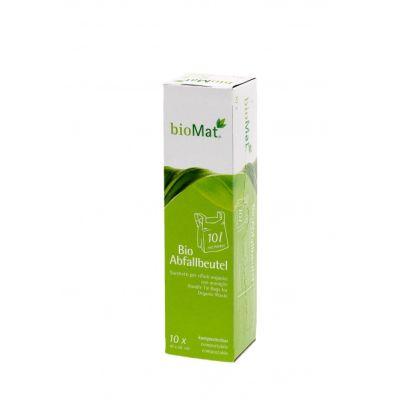Die zertifizierten Bioabfallbeutel mit Henkel in der Probiergröße