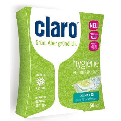 50 Stück der claro Hygiene Tabs