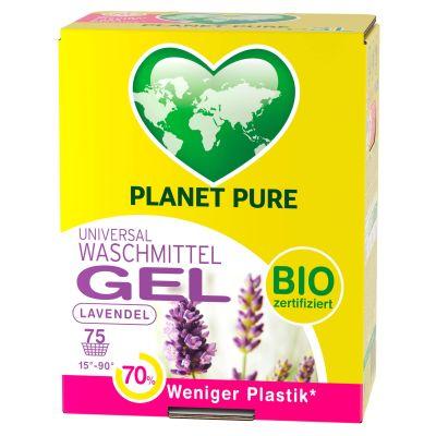 Das Planet Pure Bio Waschmittel mit Lavendelduft in der 1