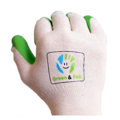 Gartenhandschuhe aus Naturkautschuk, Größe: M