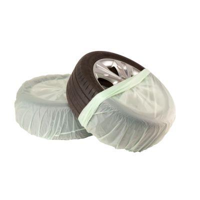 Die biologisch abbaubaren Reifensäcke schützen ihre eingelagerten Reifen