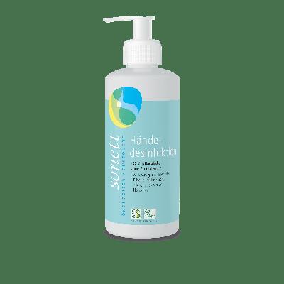 Händedesinfektion im Spender 300 ml 100% pflanzlich