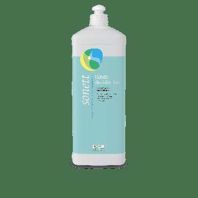 Händedesinfektionsmittel 1 Liter 100% pflanzlich