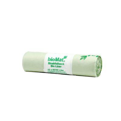60-80 Lt. kompostierbare Abfallsäcke (10 Stk.)